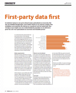 First Party Data First