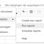Automatiseer je test analyse (Google Analytics)
