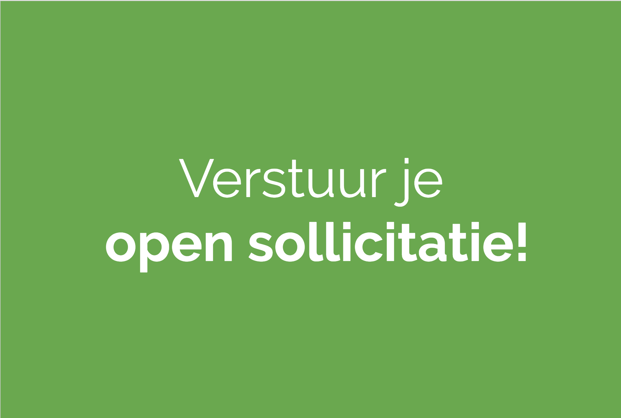 Open sollicitaties