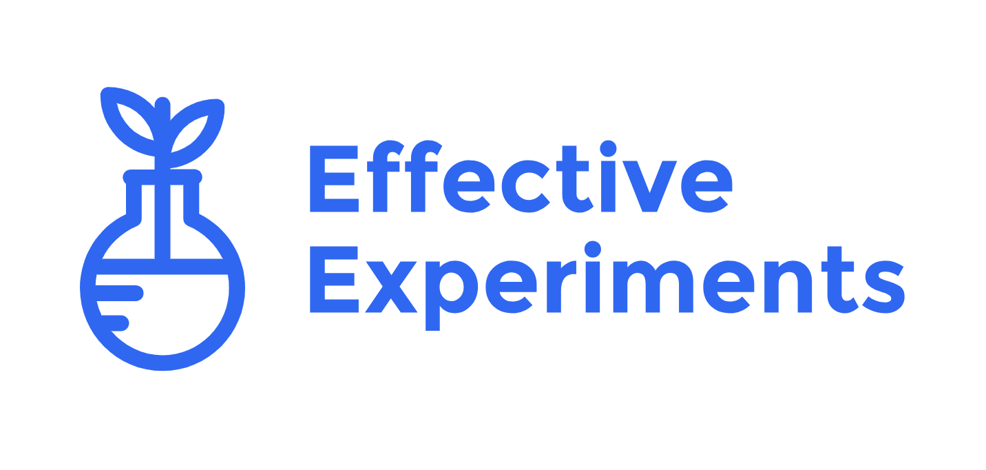 Effective experiments
