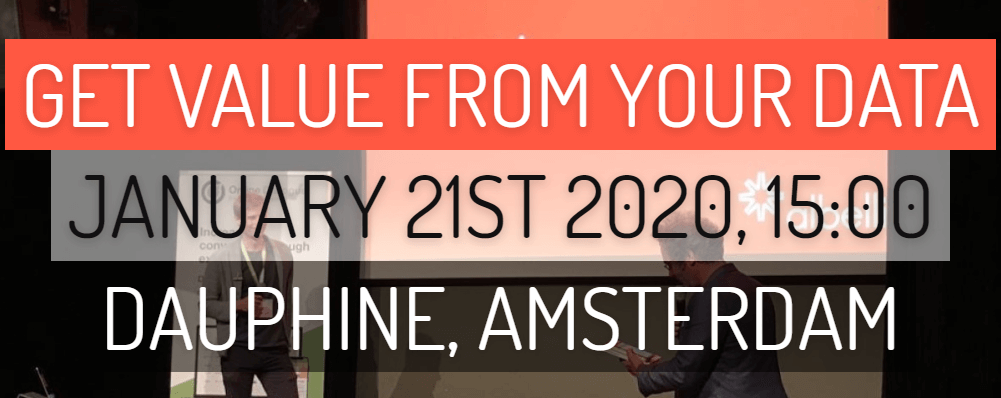 DDTT #11 op 21 januari in Amsterdam – Get value from your data